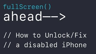how to unlock iphone when you forget password how to unlock fix a disabled iphone quot i forgot my iphone 5025