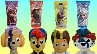 Let S Use The Paw Patrol Bath Paints To Learn Colors Как